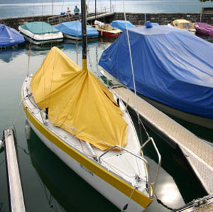 Boat tarp covers